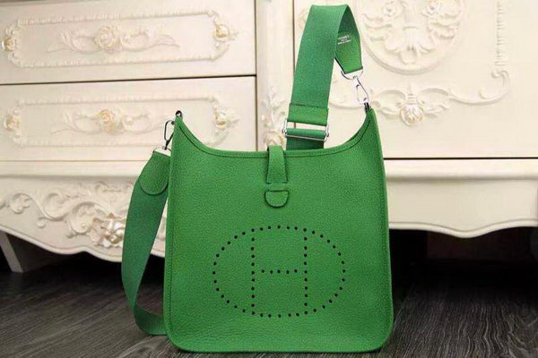 Hermes Evelyne 32cm Messenger Bag H1188 Green