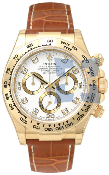 Rolex Daytona Series Automatic Mens Wristwatch 116518WD