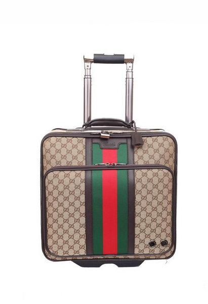 Gucci Luggage Travel Carry-on Luggage 246459 Apricot