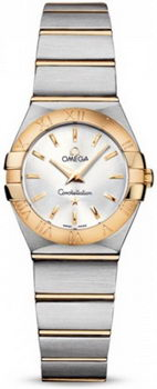 Omega Constellation Brushed Quarz Mini Watch 158627AP