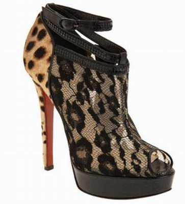 Christian Louboutin Lace Boot