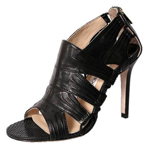 Jimmy Choo North nappa leather sandal black