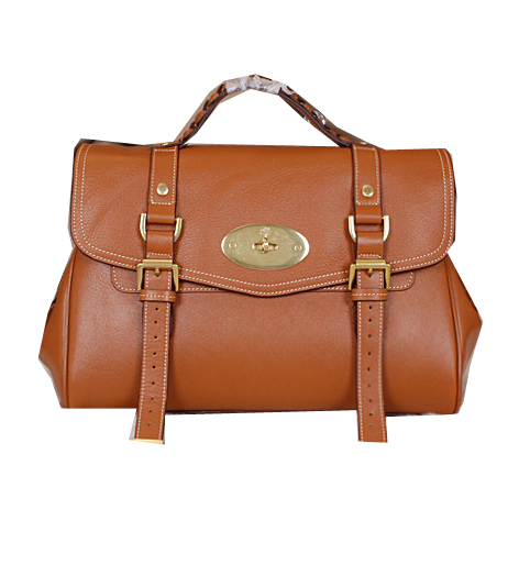 Mulberry Alexa Bayswater Bags Calfskin Leather 7539M Wheat