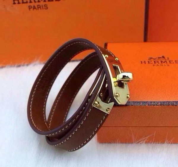 Hermes Genuine Leather Bracelet HM0013C