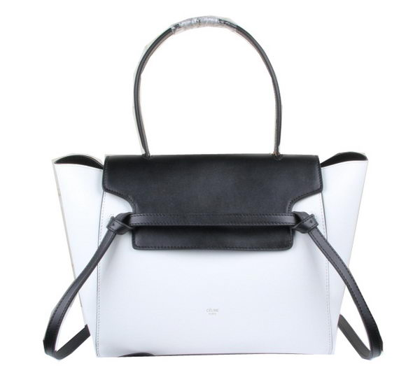 Celine Belt Bag Original Leather C33681 Black&White