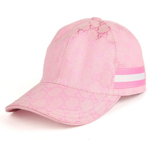 Gucci Hat GG17 Light Pink&White