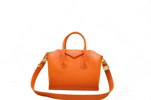 Givenchy Small Antigona Bag Original Leather 1800 Orange