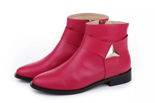 Valentino Sheepskin Leather Ankle Boot VT201 Rose
