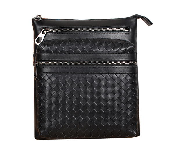 Bottega Veneta Cross Body Messenger Bag 99268 Black