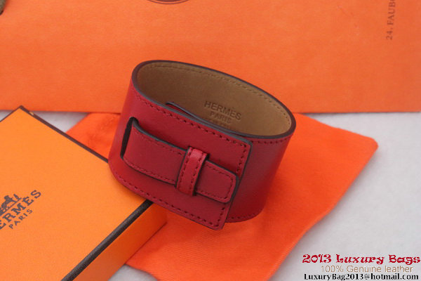 Hermes Genuine Leather Bracelet H1150_6