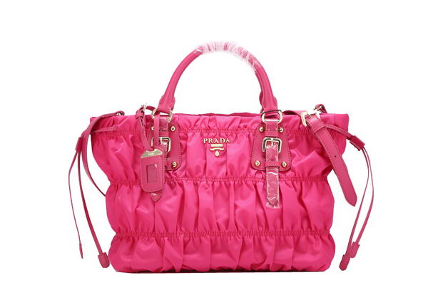 Prada Gaufre Nylon Tote Bag BN1788 - Rose