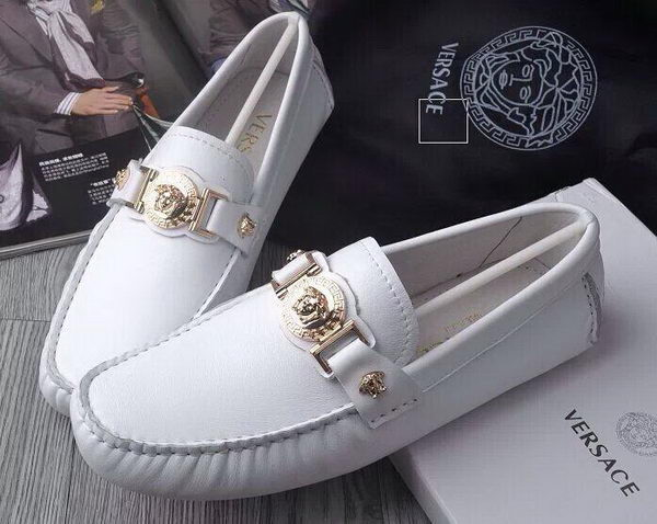 Versace Casual Shoes Sheepskin Leather Versace83HT White