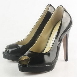Jimmy Choo Quiet Patent Leather Pumps Black