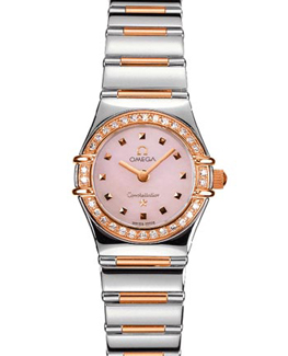 Omega Constellation 18kt Rose Gold Mini Ladies Diamond Watch 1368.73.00Omega Constellation 18kt Rose Gold Mini Ladies Diamond Watch 1368.73.00