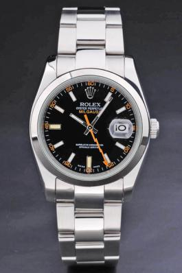 Rolex Milgauss Black Stainless Steel 36mm Men Watch-RM3888