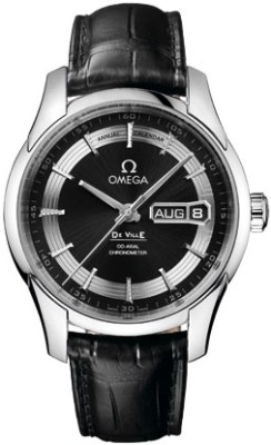 Omega Deville Hour Vision Stainless Steel Mens Automatic Wristwatch 431.33.41.22.03.001