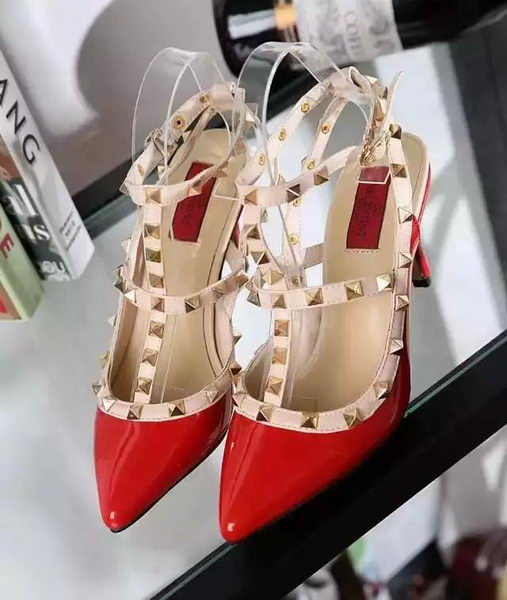 Valentino Patent Leather Pump VT488 Red