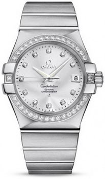Omega Constellation Chronometer 35mm Watch 158629AM