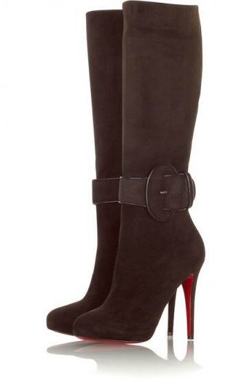 Christian Louboutin Babel Shoe Boots Brown