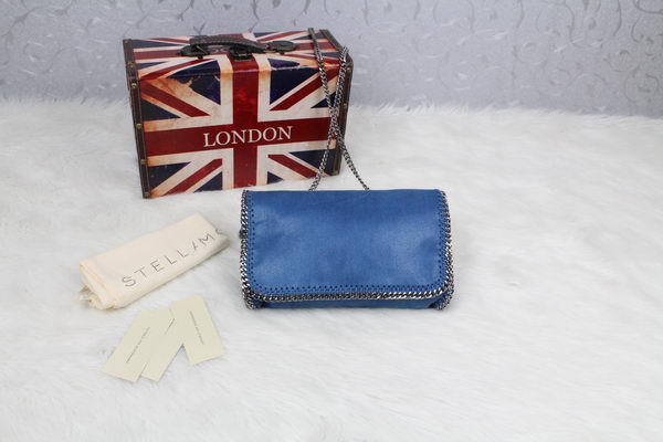 Stella McCartney Falabella PVC Cross Body Bags SM829 Blue