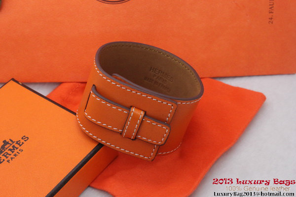 Hermes Genuine Leather Bracelet H1150_7