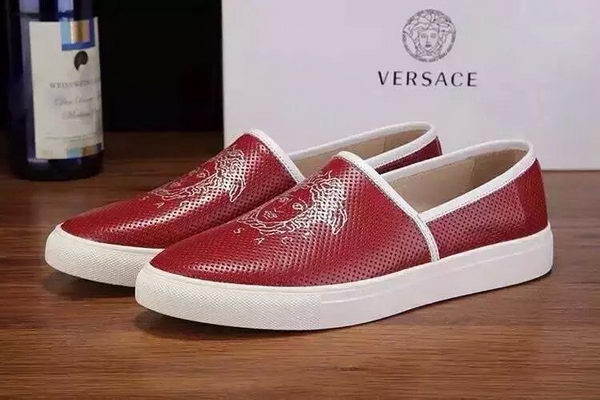 Versace Men Casual Shoes Versace72G Red