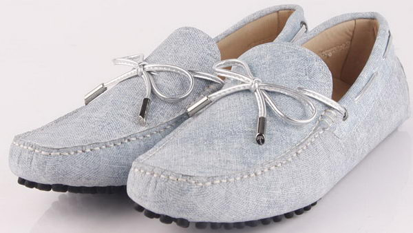 Tods Leather Ballerina TO273 Grey