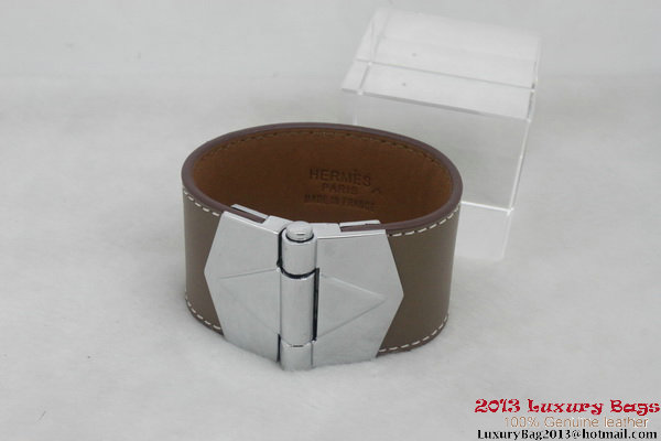 Hermes Genuine Leather Bracelet H1144_6