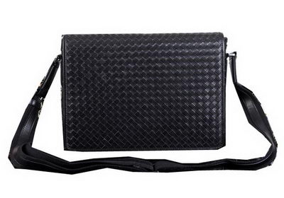 Bottega Veneta Cross Body Messenger Bag BV8302 Black