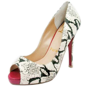 Christian Louboutin Womens Snake High-Heeled Shoes