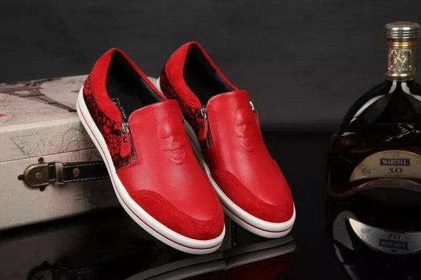 ALEXANDER MCQUEEN Casual Shoes MCQ270 Red