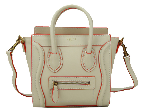 Celine Luggage Nano Bag Original Leather CL88029 Beige