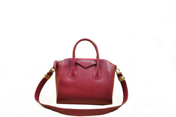 Givenchy Small Antigona Bag Original Leather 1800 Wine