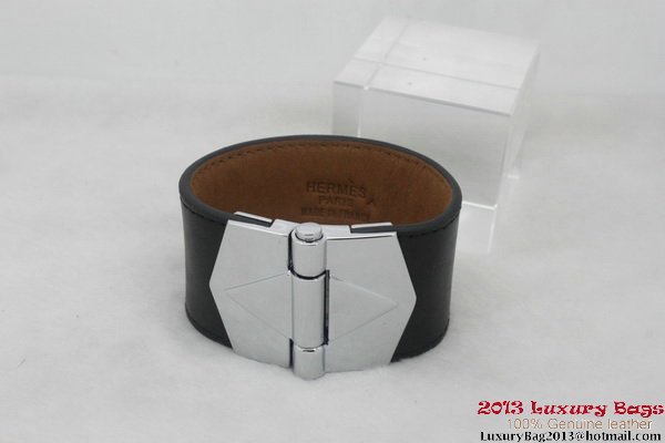 Hermes Genuine Leather Bracelet H1144_14