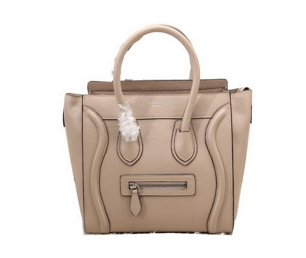 Celine Luggage Micro Bag Grainy Leather CL88023 Khaki