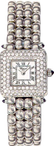 Chopard Classic Series 18kt White Gold Ladies Diamond Watch 106115-23