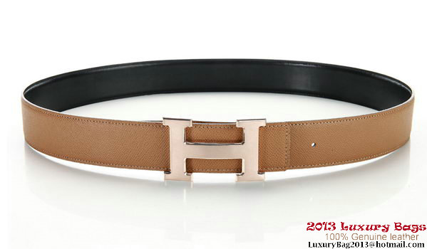 Hermes 50mm Saffiano Leather Belt HB113-12