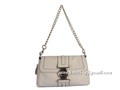 Gucci 2010 New Evening Leather Shoulder Bag 232988 Off white