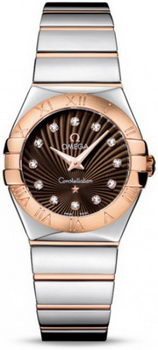 Omega Constellation Polished Quarz Small Watch 158638T