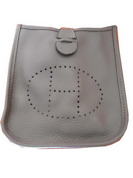 Hermes mini Evelyne Messenger Bag H1608S Grey
