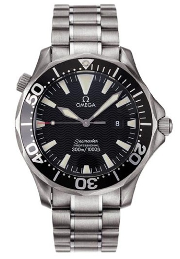 Omega Seamaster Series Mens Stainless Steel Wristwatch-2264.50.00