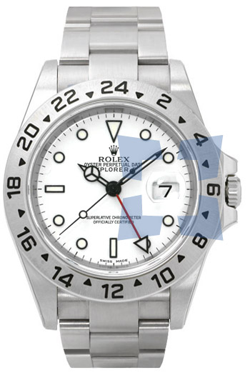 Rolex Explorer II Series Mens Automatic Wristwatch 16570W