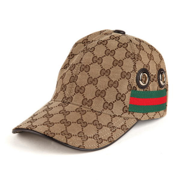 Gucci Hat GG11 Apricot&Brown