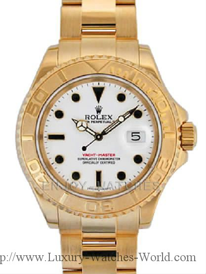 Rolex Yachtmaster 18k & SS RX198