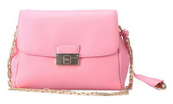Dior Small DIORLING Bag in Original Calf Leather D040 Pink