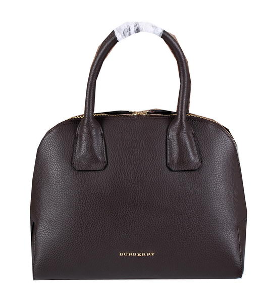 BurBerry Grainy Leather Tote Bag 3950203 Brown