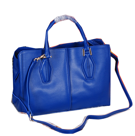 Tods Sella Small Bowler Bags 373006 Blue