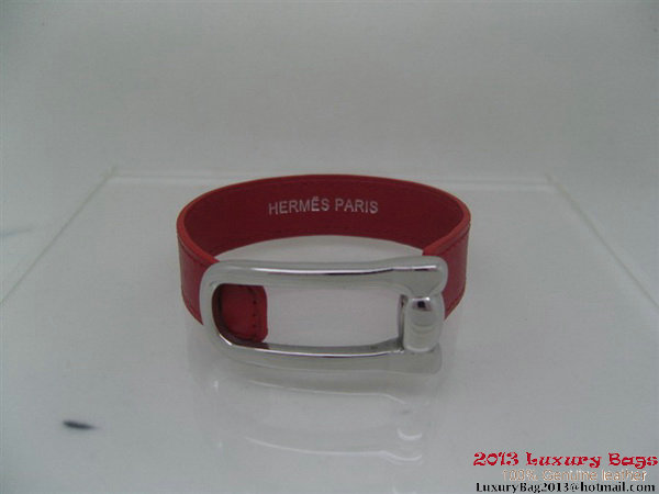 Hermes Genuine Leather Bracelet H1134_6