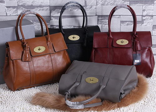 Mulberry Bayswater Medium Tote Bag Natural Leather 5988M