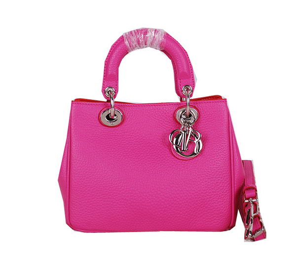 Dior mini Diorissimo Bag Grainy Leather CD0525 Rosy